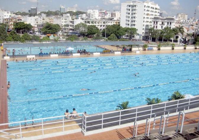 Bể bơi khu chế xuất Tân Thuận Quận 7