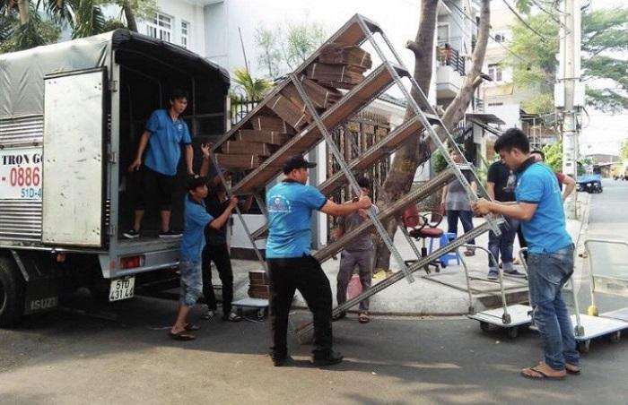 Công ty dịch vụ chuyển nhà trọn gói quận 7 Thành Tâm