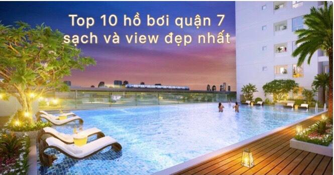 Top 10 hồ bơi quận 7 sạch đẹp nhất