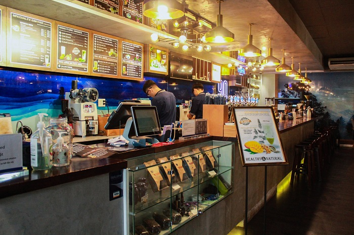 Cafe quận 7 Specialty Coffee and Tea