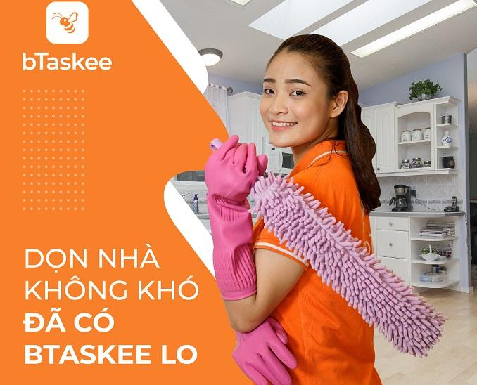 bTaskee dịch vụ dọn dẹp vệ sinh nhà quận 7