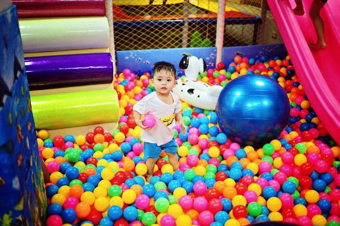 khu vui chơi trẻ em quận 7 Kidsyard