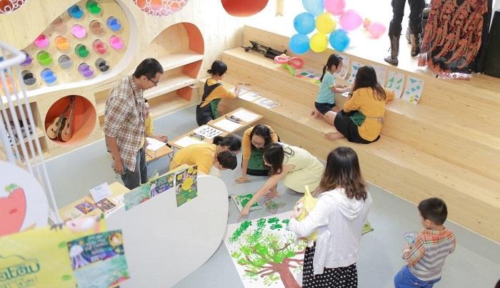 khu vui chơi trẻ em quận 7 BigFun